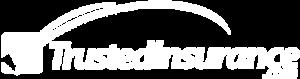 Trusted Insurance - Logo 800 White